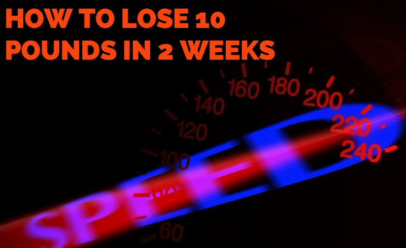 Rapid Fat Loss Diet – How to Lose 10 Pounds in 2 Weeks