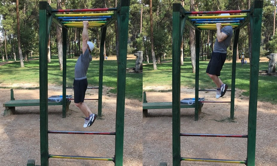 neutral grip pull-up outside